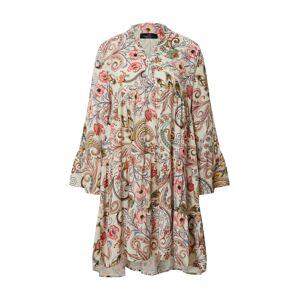 Zwillingsherz Letné šaty 'Marianna'  zmiešané farby / béžová