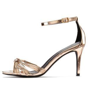 LASCANA Sandále  ružové zlato