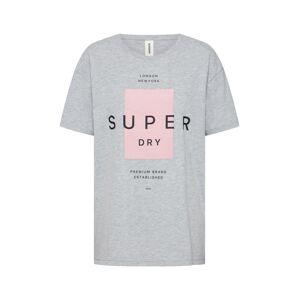 Superdry Tričko 'BLOCK PORTLAND'  sivá