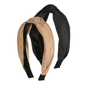 ABOUT YOU Bižutéria do vlasov 'Alara'  čierna / karamelová