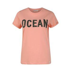 BRUNOTTI Funkčné tričko 'Oulinas'  zelená / ružová