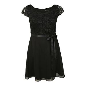 SWING Curve Kokteilové šaty  čierna