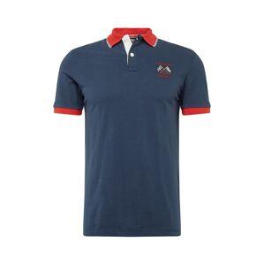 HKT by HACKETT Tričko  námornícka modrá / červená
