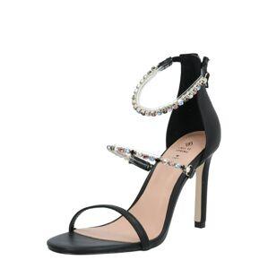 CALL IT SPRING Remienkové sandále 'Silvertip'  čierna