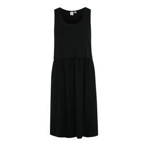 GAP Večerné šaty  čierna