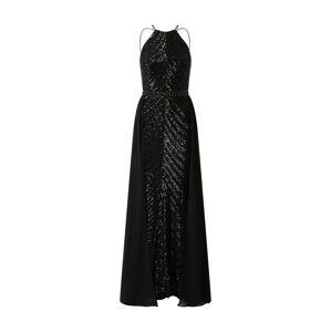LUXUAR Večerné šaty '2020-II'  čierna / strieborná