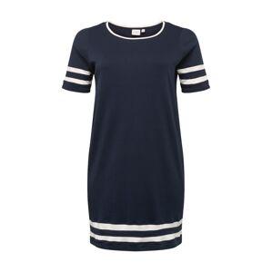 Junarose Šaty 'LIZETTE'  námornícka modrá / biela