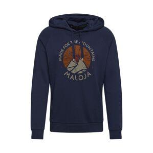 Maloja Športový sveter 'Favugn'  tmavomodrá / zmiešané farby