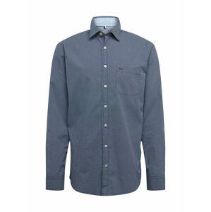 BRAX Biznis košeľa 'Ken'  námornícka modrá / biela