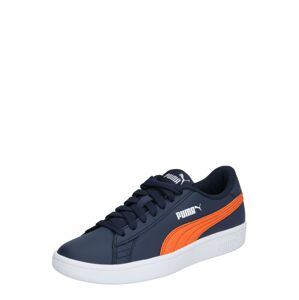 PUMA Tenisky 'Smash v2'  oranžová / námornícka modrá