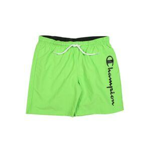 Champion Authentic Athletic Apparel Plavecké šortky  svetlozelená