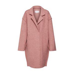 VILA Prechodný kabát  ružová