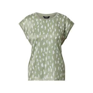 ZABAIONE Tričko 'Ivy'  kaki / biela