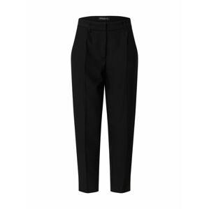 BRUUNS BAZAAR Plisované nohavice 'Cindy Dagny'  čierna