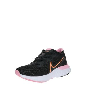 NIKE Bežecká obuv 'Renew Run'  ružová / čierna / oranžová
