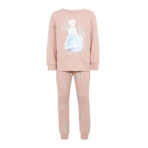 NAME IT Pyžamo 'Disney Eiskönigin'  staroružová / zmiešané farby
