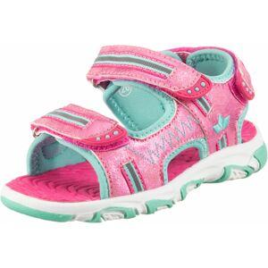 LICO Sandále 'Crispy V'  ružová / svetlomodrá