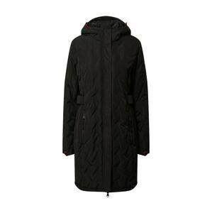 KILLTEC Outdoorový kabát 'Vogar'  čierna