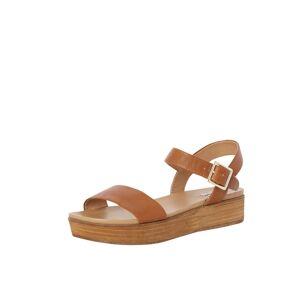 Dune LONDON Remienkové sandále 'LILYBETH'  koňaková