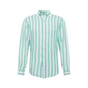 POLO RALPH LAUREN Košeľa  biela / zelená