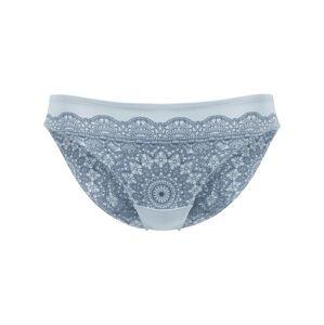 PALMERS Nohavičky 'Crochet Print Minislip'  svetlomodrá