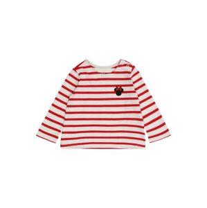 GAP Tričko 'DIS MINNIE'  červená / biela