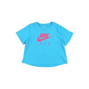 Nike Sportswear Tričko 'G NSW TEE NIKE AIR CROP'  petrolejová