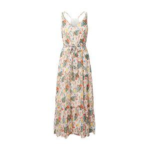 TOM TAILOR Letné šaty  biela / zmiešané farby