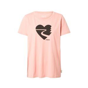 Maloja Funkčné tričko 'Rigpa'  čierna / ružová