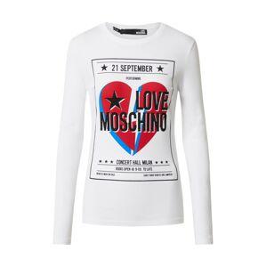 Love Moschino Tričko  zmiešané farby / biela