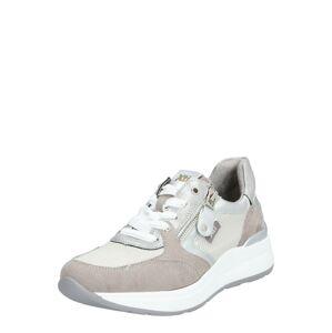 Xti Nízke tenisky  biela / sivá / svetlosivá