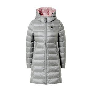 Blauer.USA Zimný kabát  striebornosivá