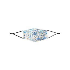 Hailys Látkové rúško 'Flower 1'  šedobiela