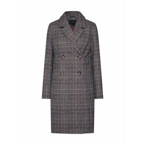 SOAKED IN LUXURY Prechodný kabát  hnedá / sivá