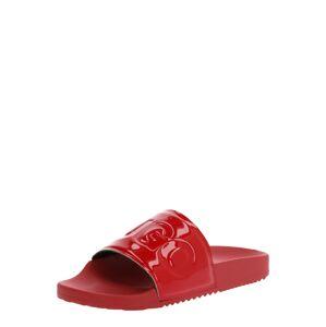 HUGO Šľapky 'Time Out Slide-P'  červená