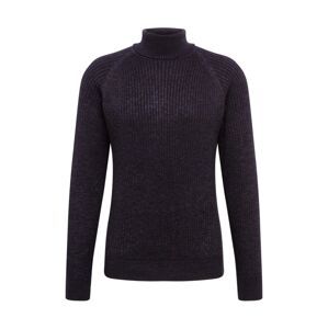 JACK & JONES Sveter 'RERIC KNIT ROLL NECK TC319'  čierna