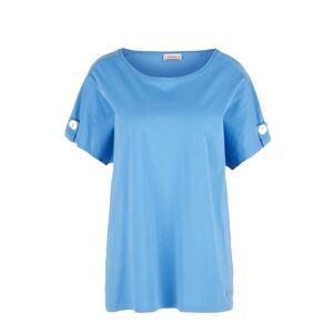 TRIANGLE Tričko  modrá