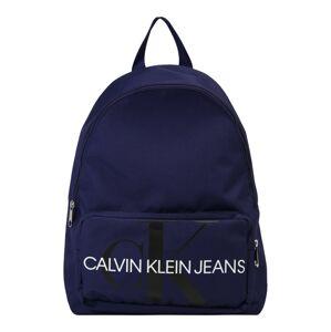 Calvin Klein Jeans Batoh 'MONOGRAM CAMPUS'  modrá