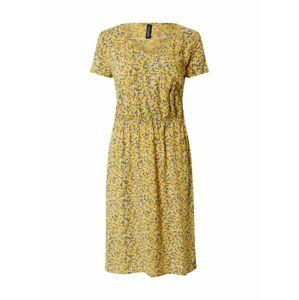 Tranquillo Letné šaty 'FANNI'  žltá