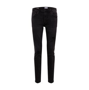 Only & Sons Džínsy 'ONSWARP SKINNY BLACK 6633'  čierny denim