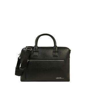 Calvin Klein Taška na notebook  čierna
