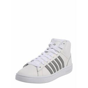 K-SWISS Členkové tenisky 'Court Winston'  sivá / biela