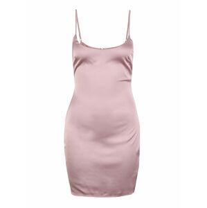 Missguided (Petite) Šaty  staroružová