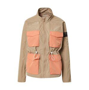ECOALF Prechodná bunda  lososová / svetlobéžová