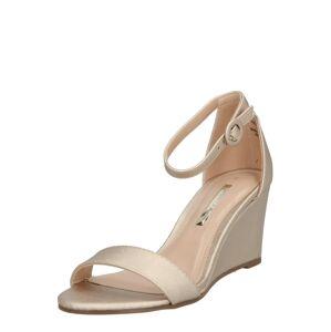 Dorothy Perkins Remienkové sandále 'Ramona'  zlatá
