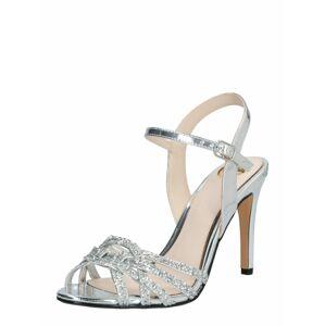 BUFFALO Remienkové sandále 'AFTERGLOW'  strieborná