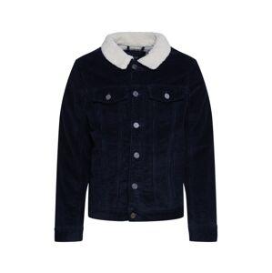 BLEND Prechodná bunda 'Outerwear'  biela / námornícka modrá