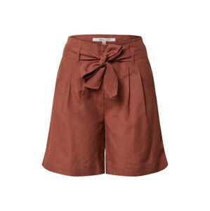ONLY Plisované nohavice 'VIVA LIFE'  hnedá