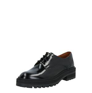 Billi Bi Šnurovacie topánky 'Polido'  čierna