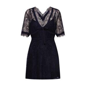 Fashion Union Šaty 'TRACE'  čierna